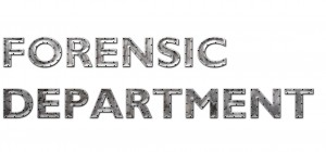 Forensic Department Title2